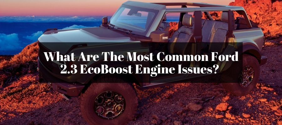 Finding the symptoms of failing 2.3 Ecoboost engine.